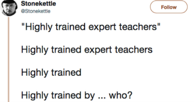 20-Year-Veteran Tweets His Stance On Arming Teachers