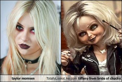 taylor momsen totally looks like tiffany from bride of chucky