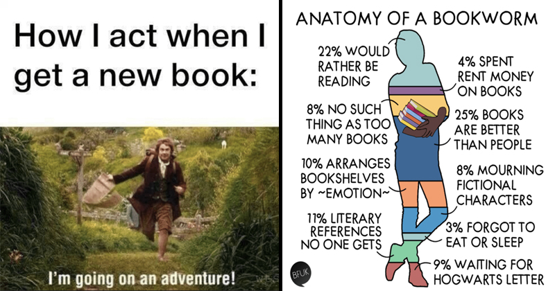 memes bookworm funny bookworms relate