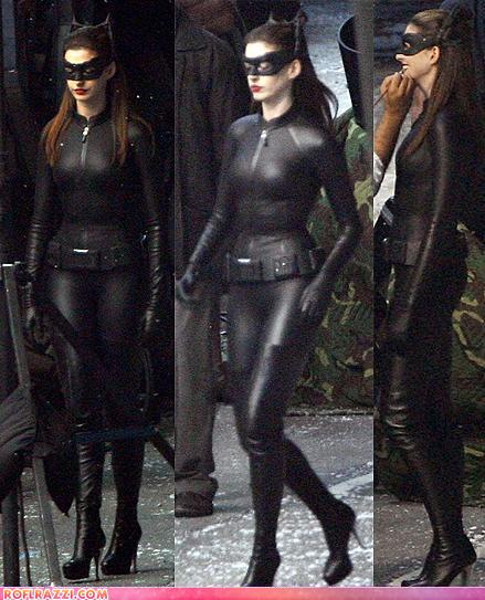 Anne Hathaway's Catwoman Suit