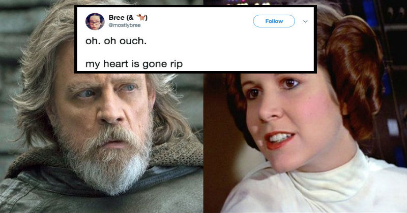 A Star Wars Fan Figured Out This Heart-Wrenching Detail From 'The Last Jedi'
