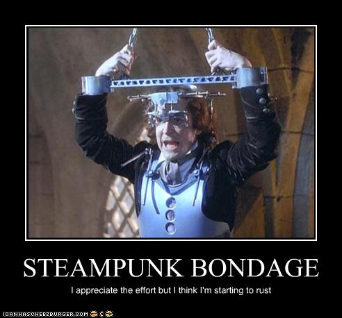 Steampunk Bondage Cheezburger Funny Memes Funny Pictures