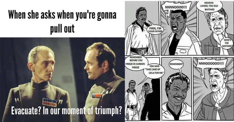 11 Dirty Star Wars Memes For A Naughty #MayThe4th - Memebase