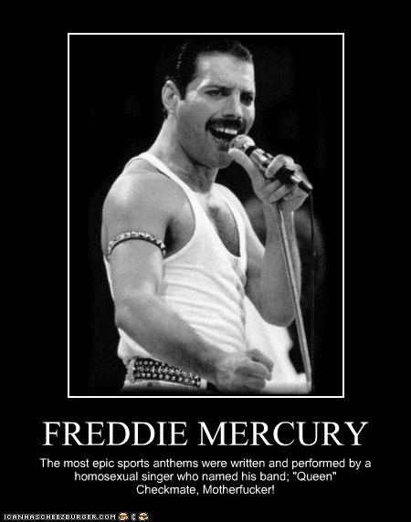 Freddie Mercury Cheezburger Funny Memes Funny Pictures