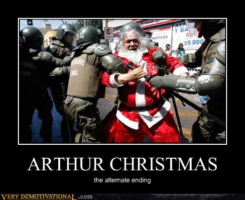 Arthur Christmas Poster.Arthur Christmas Very Demotivational Demotivational