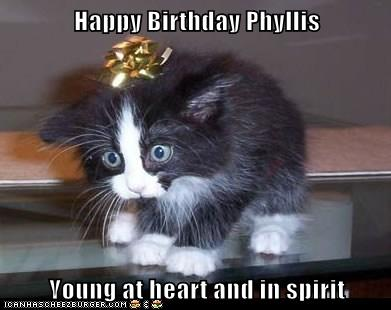 Happy Birthday Phyllis Young At Heart And In Spirit