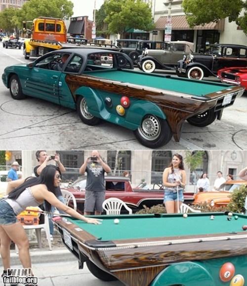 Pool Table Car WIN