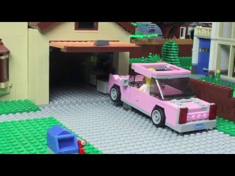 Watch This Awesome Simpsons Intro Made Out of LEGOs