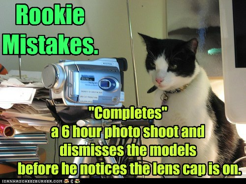 Rookie Mistakes Lolcats Lol Cat Memes Funny Cats