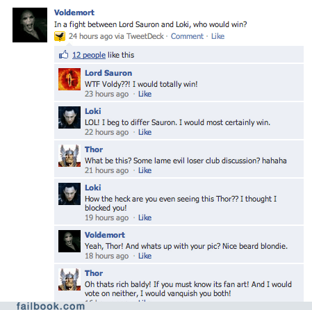 Trolldemort - Failbook - Failing On Facebook