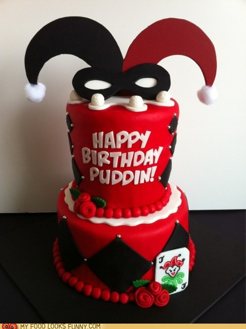Harley Quinn Cake Cheezburger Funny Memes Funny Pictures