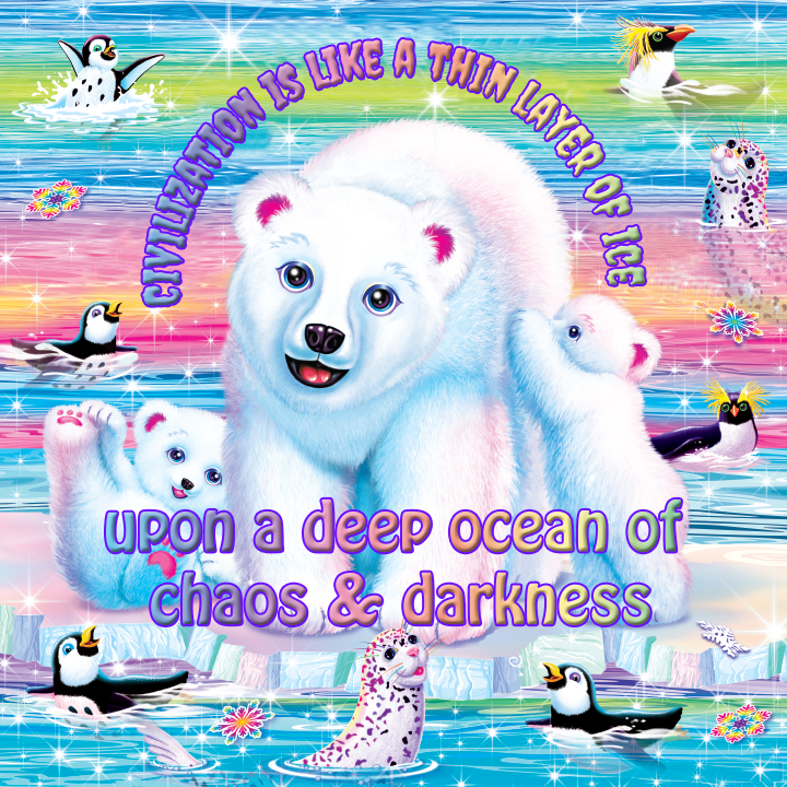 Let Nihilist Lisa Frank Guide You Through This Mortal Coil