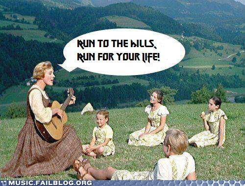 Image result for run to the hills meme