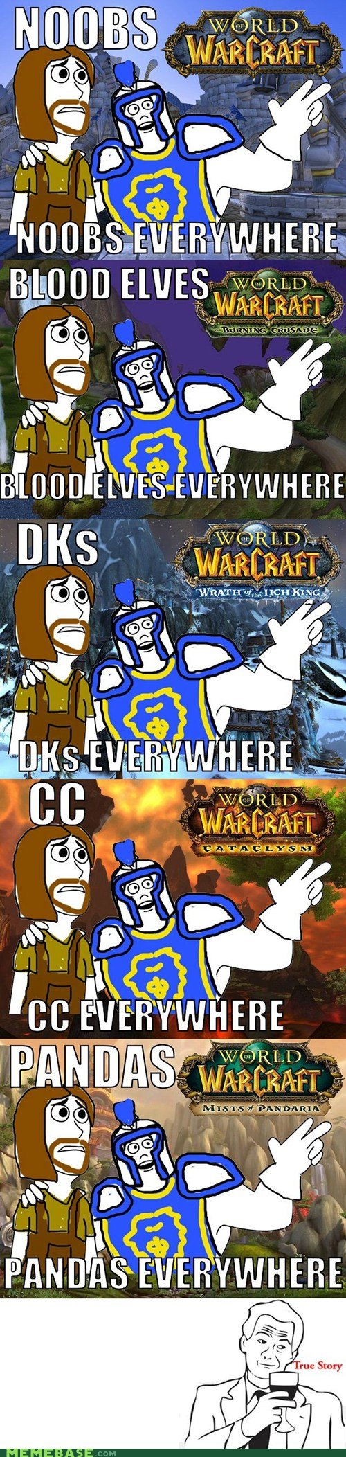 Video Games World Of Warcraft For Dummies Memebase Funny Memes