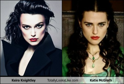 Is katie mcgrath related to keira knightley