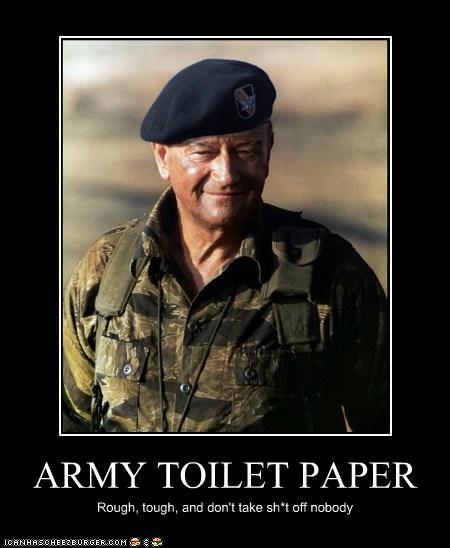 army toilet paper - cheezburger