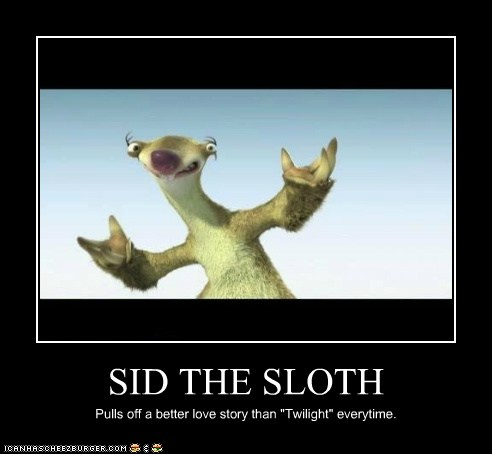 Sid The Sloth Cheezburger Funny Memes Funny Pictures