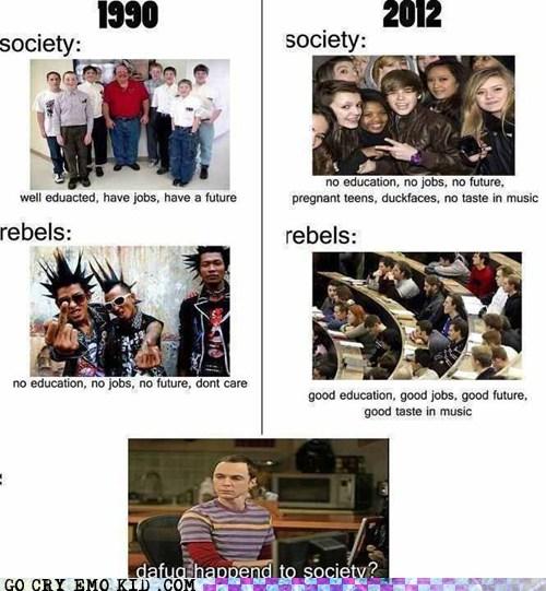 Go Cry Emo Kid Get It Together Kids Memebase Funny Memes