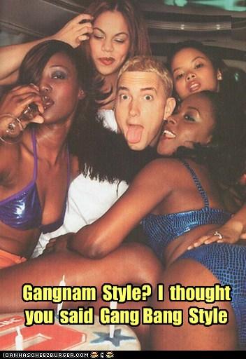 Celebrity gang bangers