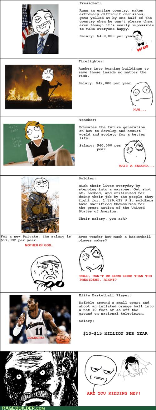 Funny clone memes: Salaries