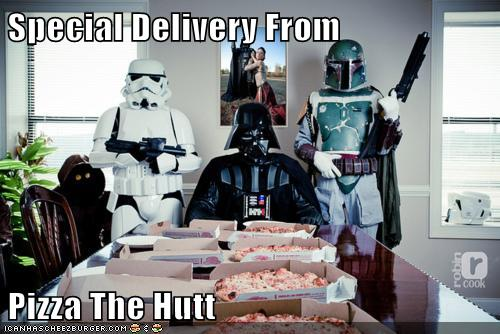 Special Delivery From Pizza The Hutt Set Phasers To Lol