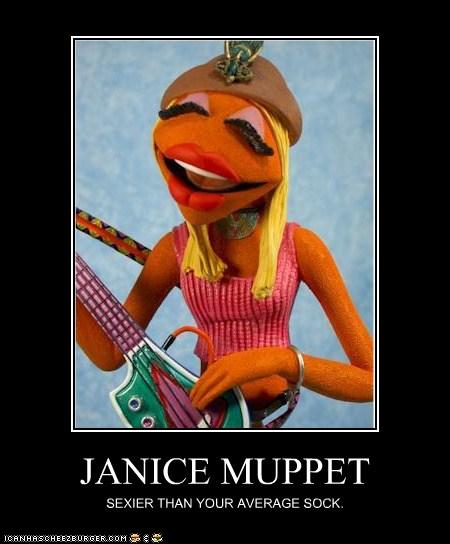 Funny Muppet Meme: JANICE MUPPET - Cheezburger - Funny Memes
