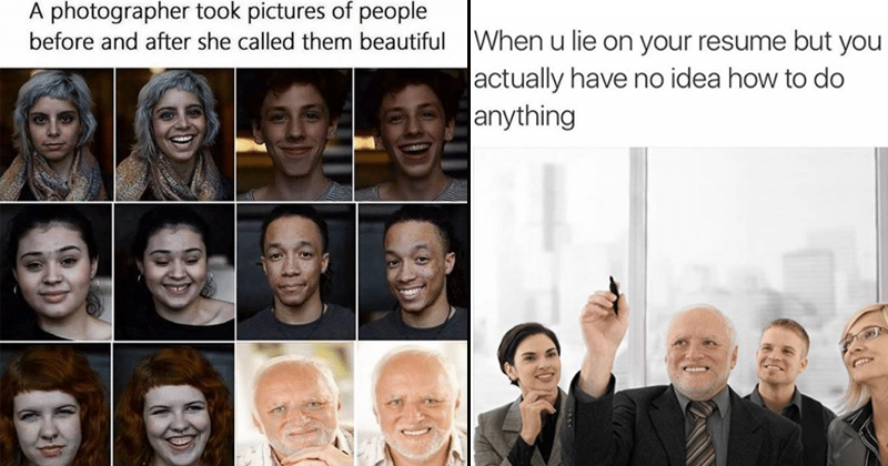 14 Excellent Throwback Memes From Hide The Pain Harold Memebase
