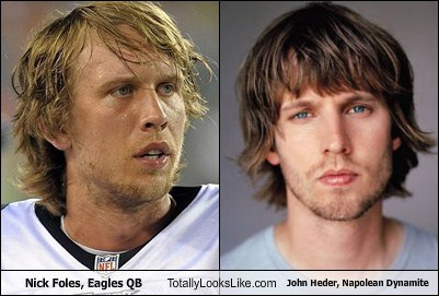 Nick Foles (Eagles Quarterback) Totally Looks Like Jon ... Nick Foles Jon Heder