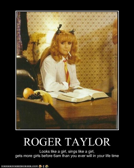 Roger Taylor Cheezburger Funny Memes Funny Pictures