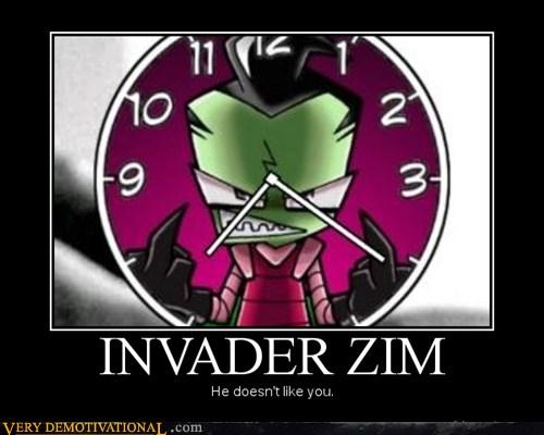 Invader Zim Doesnt Like Anyone