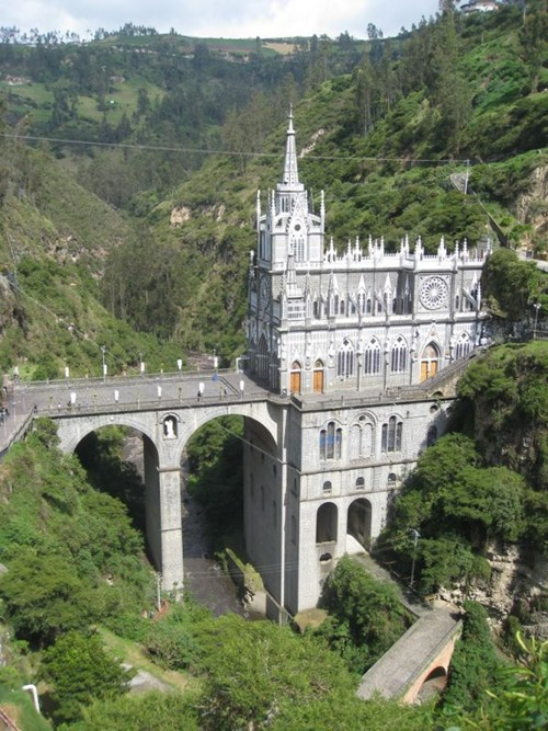 Las Lajas Sanctuary  Colombia - Cheezburger