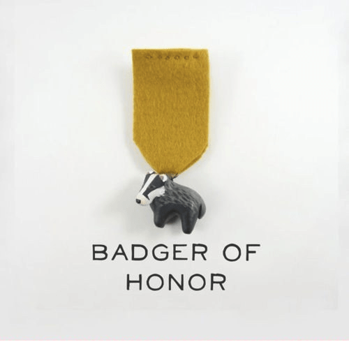 Image result for badge of honor meme