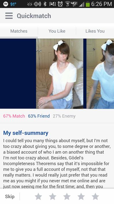 Charlies Dating-Profil