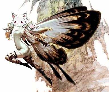 Madoka Default Where The Kyubey Flies Cartoons Anime Anime Cartoons Anime Memes Cartoon Memes Cartoon Anime