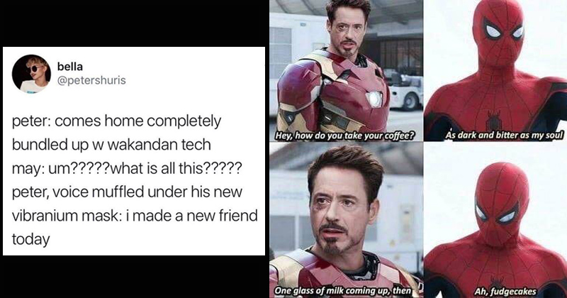 Peter Parker Archives Memesem