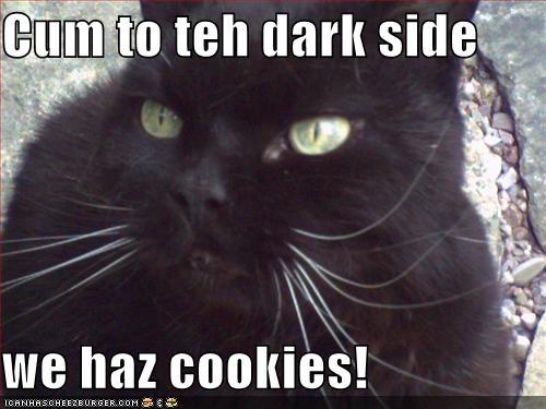 Cum to the dark side