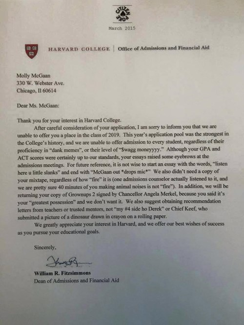 College application essay service to harvard
