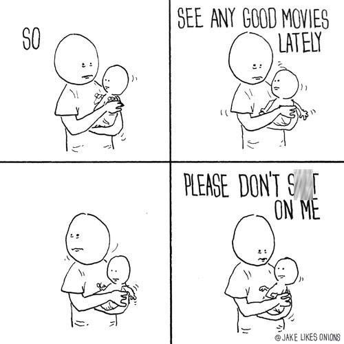 Comics Baby's Make For Awkward Conversation