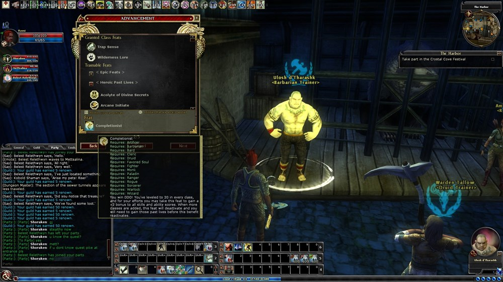 Ddo Completionist Anti Feixista