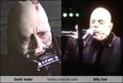 Darth Vader Totally Looks Like Billy Joel Totally Looks Like