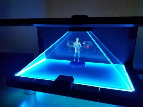 Guy Creates Amazing Cortana Hologram For Home Use And He S