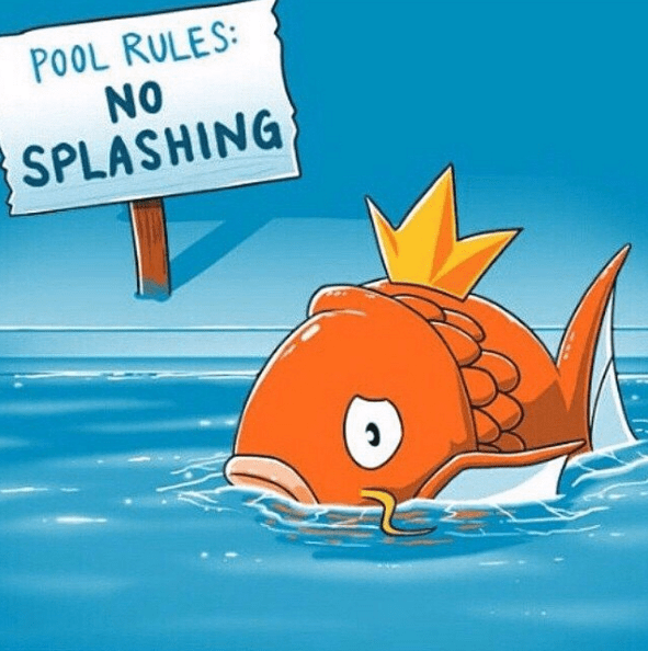 when you take away the splash what u0026 39 s left  - pok u00e9memes