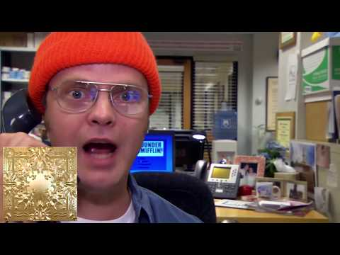 Funny Memes For The Office : Video kanye west albums described using clips from the office