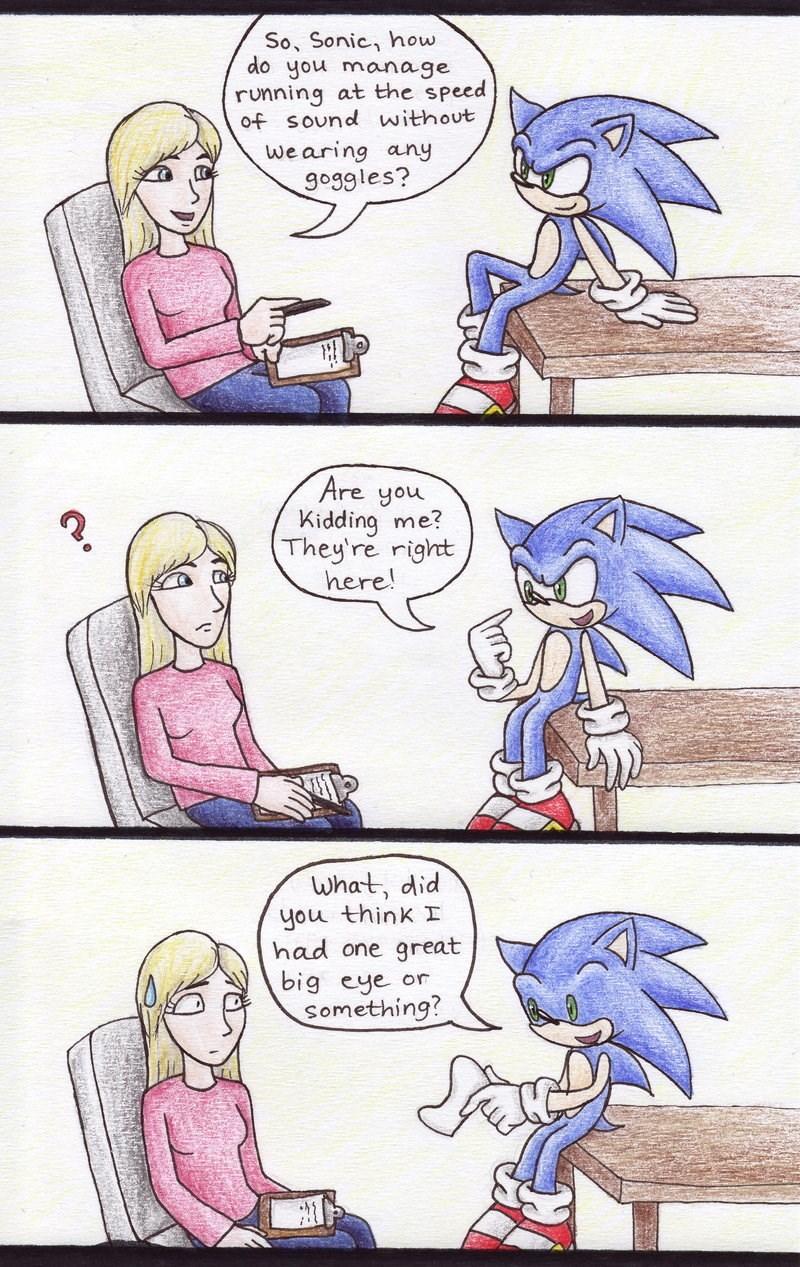 Memebase - sonic the hedgehog - All Your Memes Are Belong ...