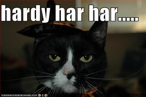 Hardy Har Har Cheezburger Funny Memes Funny