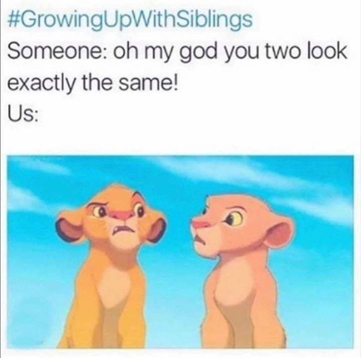 You look exactly the same