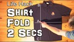 Learn to Fold Shirts Like a Wizard