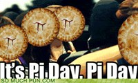 It's Pi Day, Pi Day, gotta get down on pi day!