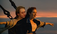 "Macaulay Culkin as Jack Dawson in ""Titanic"""
