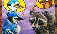 Mordecai and Rigby from 'Regular Show.'